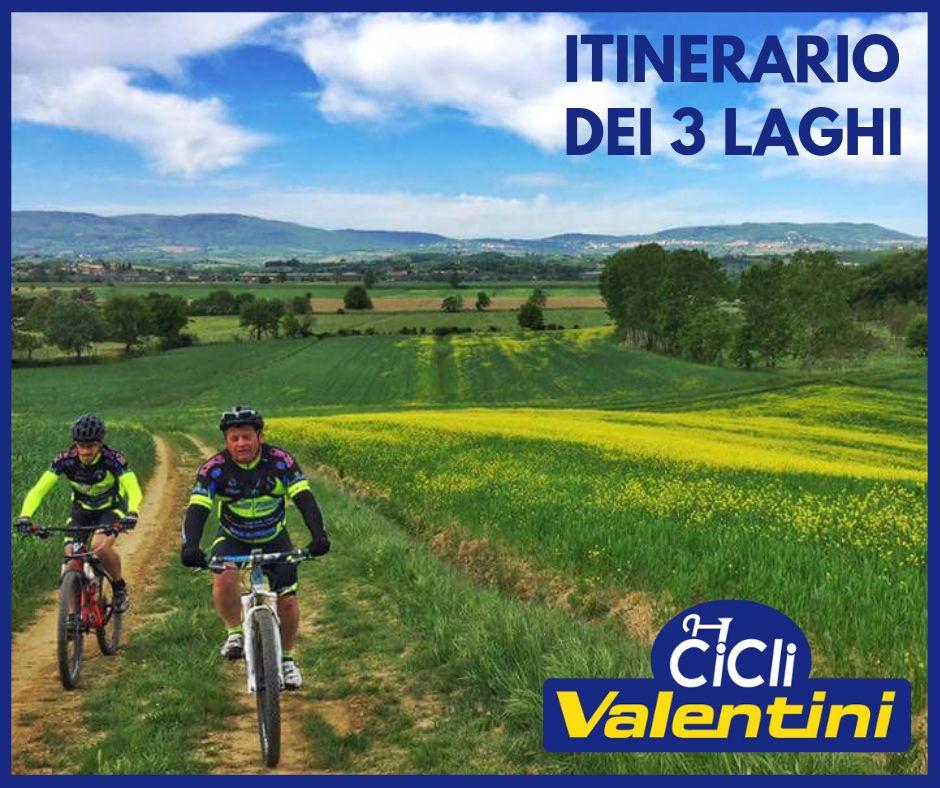 Tour dei tre laghi - Cicli Valentini