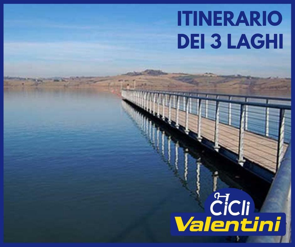 Tour dei tre laghi in bicicletta - Lago Trasimeno, Lago di Montepulciano, Lago di chiusi